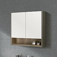 RT Large LUC60MIR Lucca Mirror Wall Cabinet 60cm