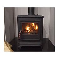 Evergreen ST0406GY Poplar 6-8kw Outside Air Multi Fuel Stove
