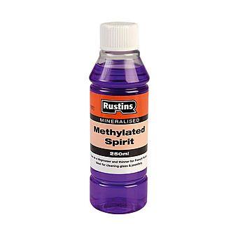 Rustins METH250 Mineralised Methylated Spirit 250ML