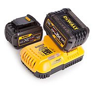 DeWalt DCB546 54V XR FlexVolt 6.0Ah Battery x 2 + DCB118 Charger Kit