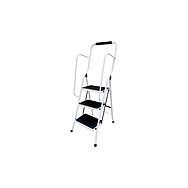 ProPlus PPS960028 3 Step Safe Step Ladder with Handrail