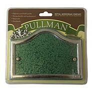 Centurion Pullman Green And Silver Number Plaque 20x13cm