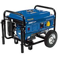 Draper 87088 Expert Petrol Generator with Wheels 2.5KW