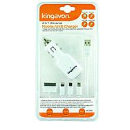 Kingavon MC395 4 in 1 Mobile Phone Charger