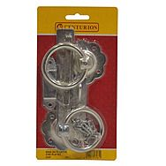 """Centurion GI39P 6"""" Ring Gate Latch With Zinc Plated Finish"""
