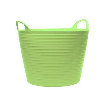 Tubbies Green Flexible Tub with Handles 26L