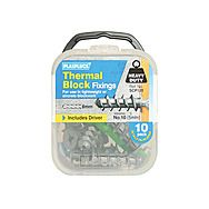 Plasplugs SCP120 Thermal Block Fixings Pack of 10