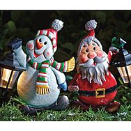 Gardman 18944XS Solar Powered Christmas Characters