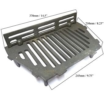 AL Fire Grate 16 Inch & Coal Saver