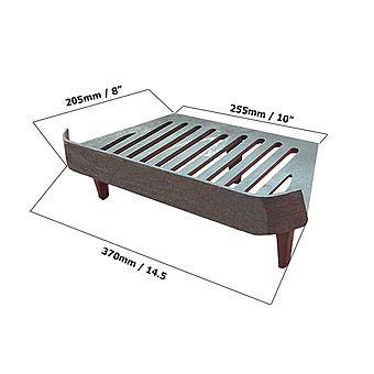 Primrose Fern Grate 16 Inch Fire Grate BG096