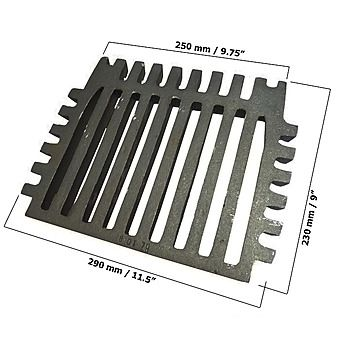Queen 51 16 Inch Fire Grate with 2 Legs BG067