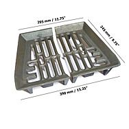 Baxi 18 Inch Fire Grate 2 Piece Burnall Fire Basket