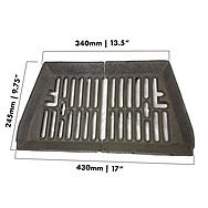 Baxi 20 Inch Fire Grate 2 Piece Burnall Fire Basket
