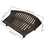 Heavy Weight Fire Stool 16 Inch Fire Grate