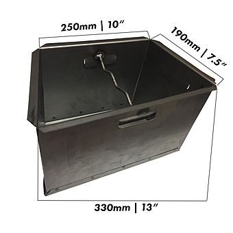 "Baxi 18 Inch Ashpan Lift Out Suitable for 18"", 20"", 22"" & 24"""