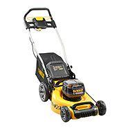 DeWalt DCMW564P2 18v XR 48cm Brushless Lawnmower & 2x 5.0Ah XR Batteries | Lawn Mower