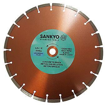 Sankyo LN-12 305mmx20mm Laser Welded Diamond Blade (Dry use)