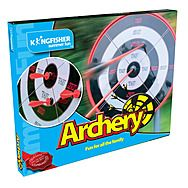 Kingfisher GA017 Archery Set with Target Board Game