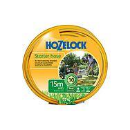 Hozelock 7215 Starter General Purpose Garden Hose 15m