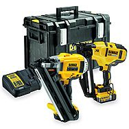 Dewalt DCK264P2 18V 5.0Ah 1st & 2nd Fix Cordless Twin Nailer Kit - DCN692 + DCN660