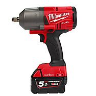 """Milwaukee M18ONEFHIWF12-502X 18v 5.0Ah 1/2"""" Impact Wrench One Key FUEL With Friction Ring"""