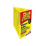 The Big Cheese STV238 Mouse Killer Grain Bait Sachets 2 Pack