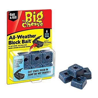 STV The Big Cheese All Weather Block Bait - 6 Blocks STV211