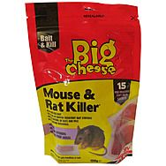 The Big Cheese STV223 Mouse and Rat Killer Soft Pasta Bait 15 Pack