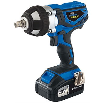Draper 82983 20v 3.0Ah 1/2 Inch Cordless Impact Wrench
