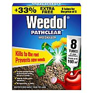 Pathclear Weedkiller Concentrated Tubes 6 Pack Plus 2 Free