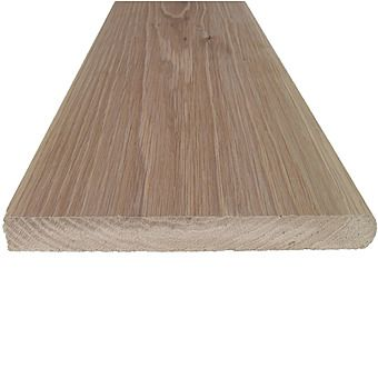 Picture of Solid Redwood Bullnose Window Cill Board 19mm Thick