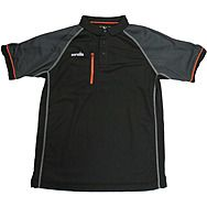 Scruffs Trade Active Polo Shirt Black