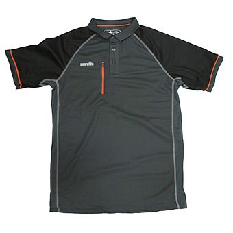 Picture of Scruffs Polo-Shirt Trade Active - Graphite