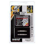 Trend GRAB/SE1/SET Grabit Damaged Screw and Bolt Remover 2 Piece Set