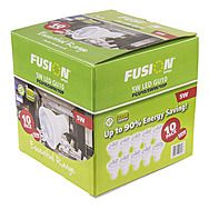 Fusion 10 Pack 5W LED GU10 Lamps - 50W Equivalent