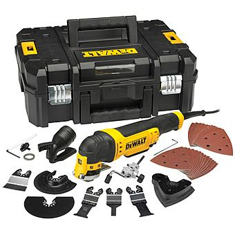 Picture of DeWalt DWE315KT Oscillating Multi Tool with 37 Accessories 300W