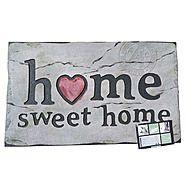 Masterpiece Home Sweet Home Stone-Effect Mat 45 x 75cm