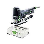Festool PS 400 EBQ-Set GB 110V Pendulum Jigsaw Carvex 561352