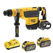 DeWalt DCH733X2 54v FlexVolt XR 48mm SDS-Max Hammer Drill 2 x 9.0Ah
