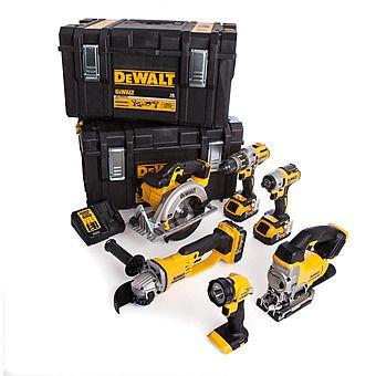Dewalt DCK694P3 18v XR Cordless 6 Piece Kit 3 x 5.0Ah Batteries
