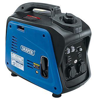 Draper 80956 Compact 2kVA Petrol Inverter Generator 1600W