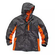 Scruffs Waterproof Worker Jacket Graphite Orange