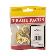 Centurion 78291 Double Picture Hooks 12 Pack No.3 Brass