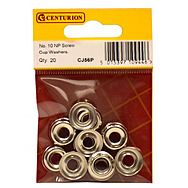 No 10 NP Screw Cup Washers (Pack of 20)