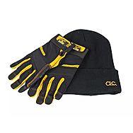 CLC PK3015 Flexgrip Full Finger Work Gloves And Beanie Hat