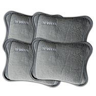 De Vielle Family Pack Of 4 Electric Hot Water Bottles