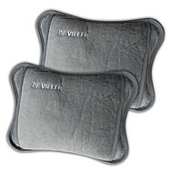 DeVielle Electric Hot Water Bottle 2 Pack