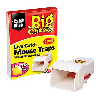 The Big Cheese Live Catch Mouse Traps STV155
