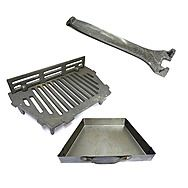 AL 18 Inch Fire Grate With Coal Saver & 18 Inch Ash Pan
