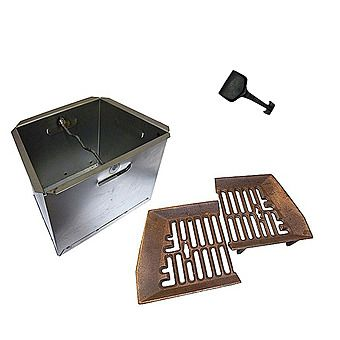 "Picture of Baxi 22"" Fire Grate & 18"" Ashpan Set"